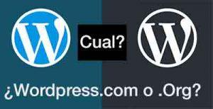 diferencia entre wordpress.com y wordpress.org