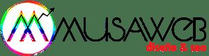 logo de diseño web musaweb