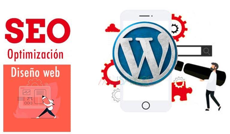 diseño web wordpress posicionamiento seo